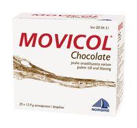 MOVICOL CHOCOLATE jauhe oraaliliuosta varten, annospussi 30 kpl