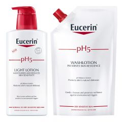 Eucerin pH5 Washlotion kampanjapakkaus 800 ml
