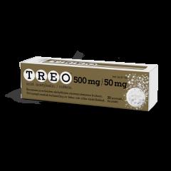 TREO 500/50 mg poretabl 20 kpl