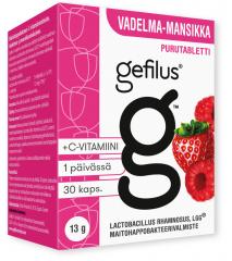 Gefilus vadelma purutabletti X30 kpl