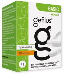 GEFILUS BASIC X20 kaps