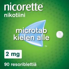 NICORETTE MICROTAB 2 mg resoribl 90 fol