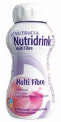 NUTRIDRINK MULTI FIBRE MANSIKKA X4x200 ml